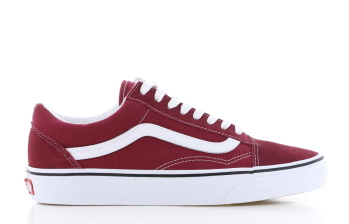 Vans UA Old Skool Bordeaux/Rood Dames