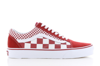 Vans UA Old Skool Rood/Wit Dames