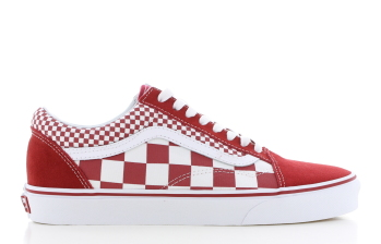 Vans UA Old Skool Rood/Wit Heren