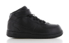 Air Force 1 Mid Zwart Peuters