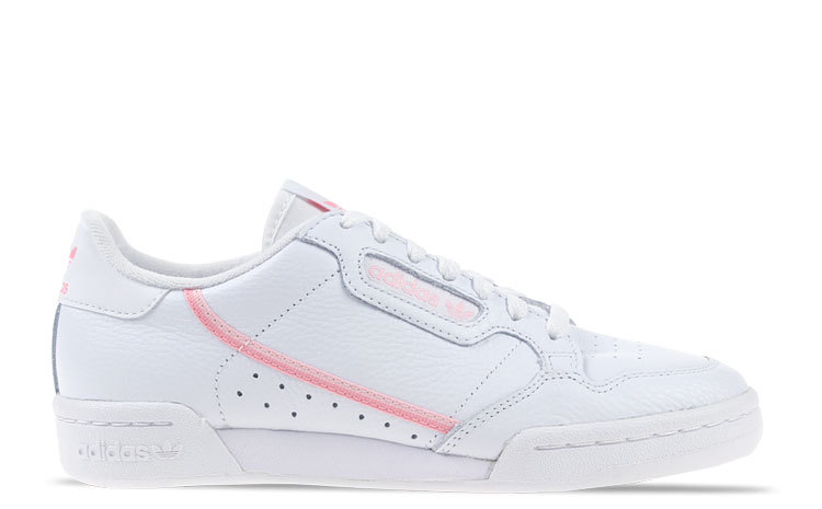 adidas Continental Wit/Roze Dames