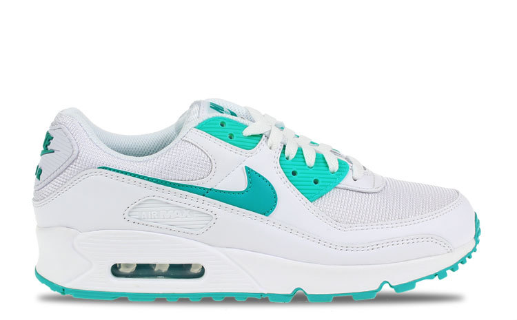Nike Air Max 90 Wit/Turquoise Heren maat 40