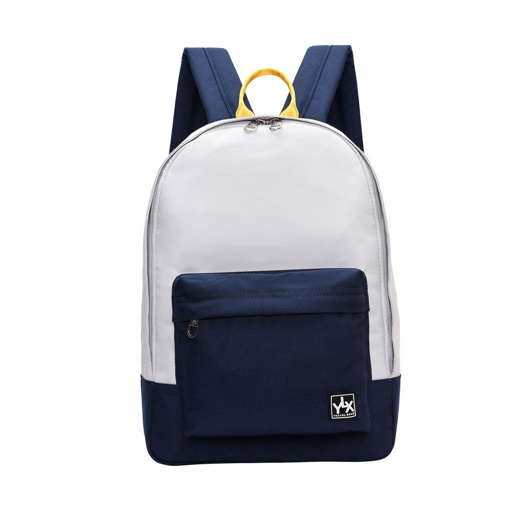 YLX Gear Classic Backpack Wit/Blauw