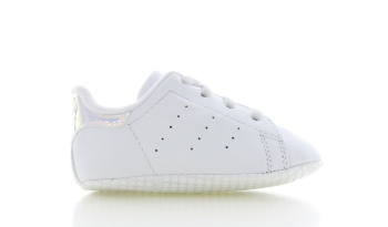 adidas Stan Smith Crib Wit/Holographic Baby's