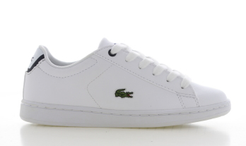 Lacoste Carnaby Evo Wit Kinderen