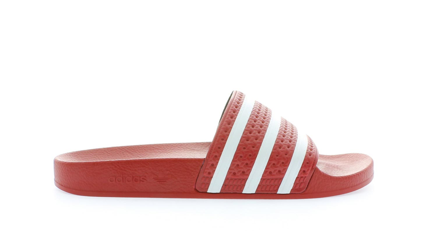 Image of Adidas Adilette Red Heren