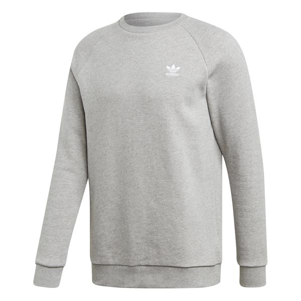 Image of Adidas Essential Sweatshirt Grijs Heren