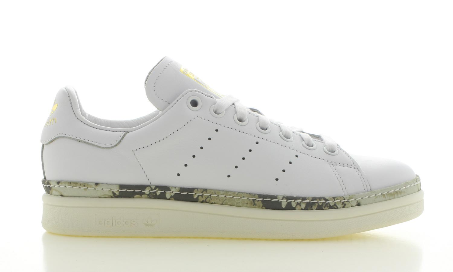 Image of Adidas Stan Smith New Bold Wit Dames