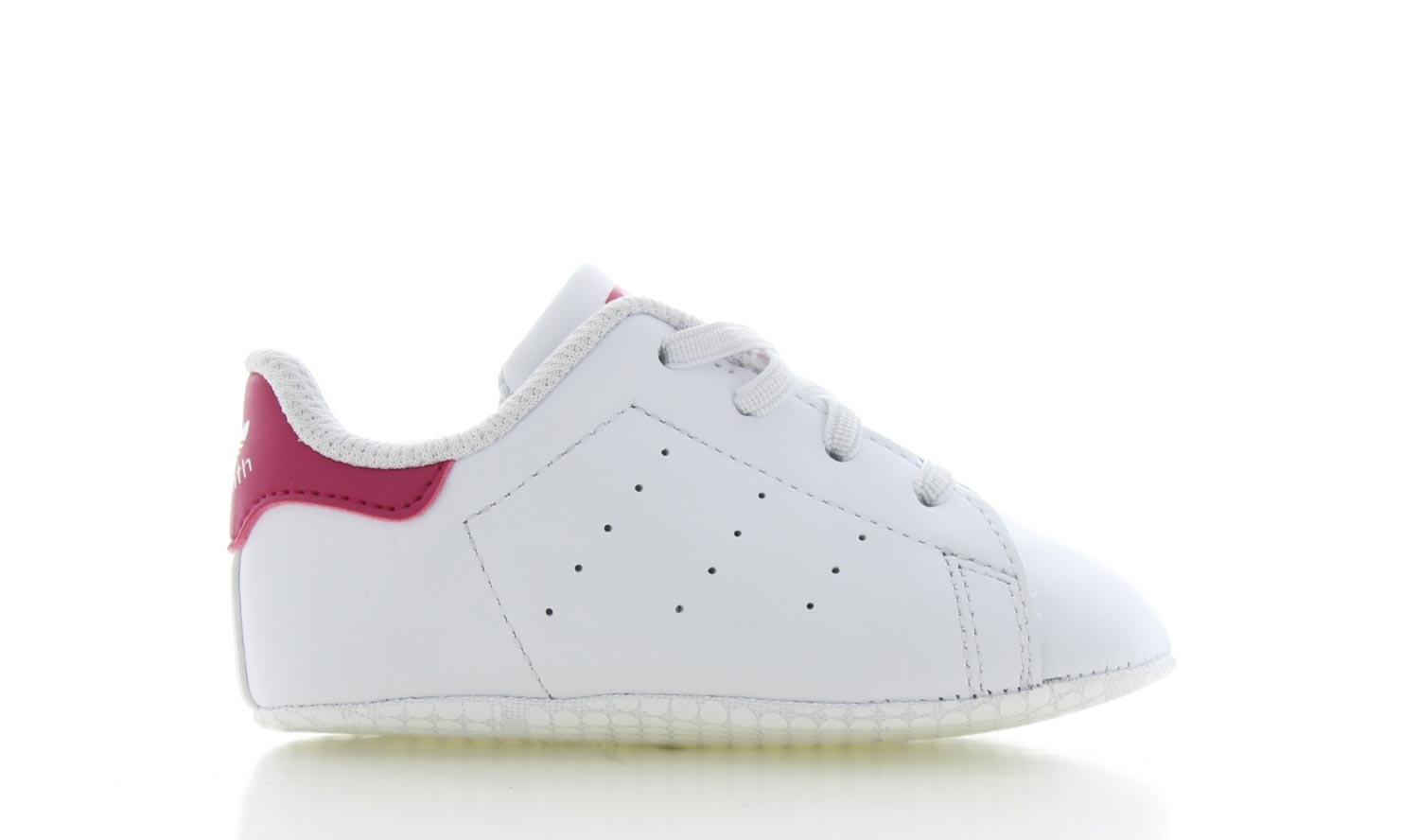 Image of Adidas Stan Smith Wit/roze Baby