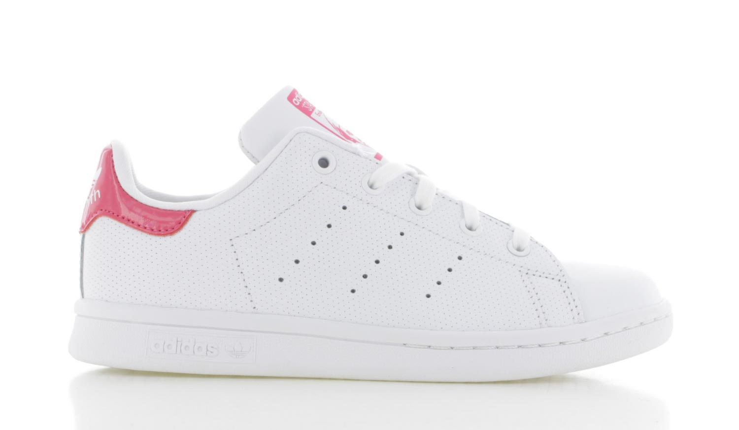 Image of Adidas Stan Smith Wit Roze Kinderen