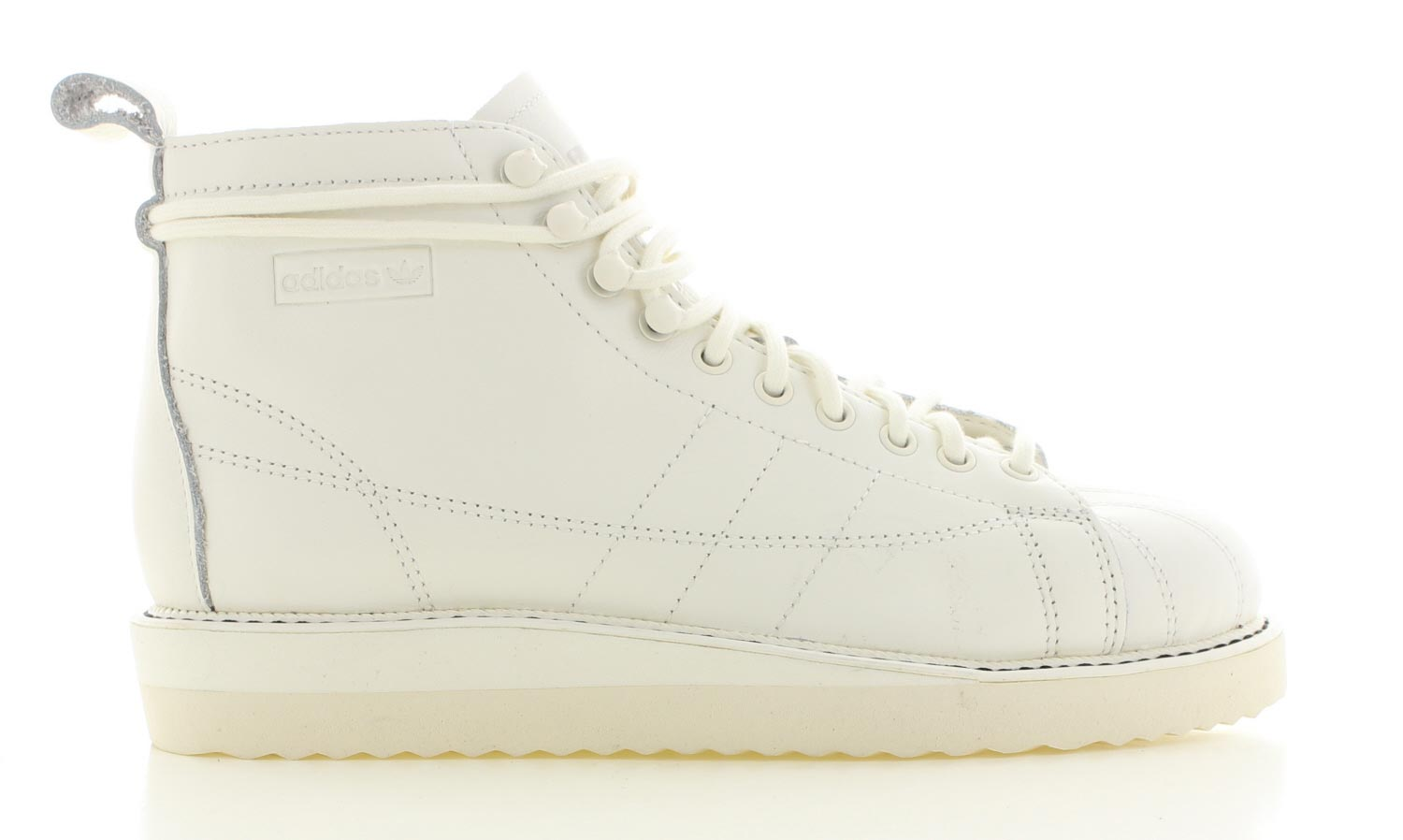 Image of Adidas Superstar Boot Wit Dames