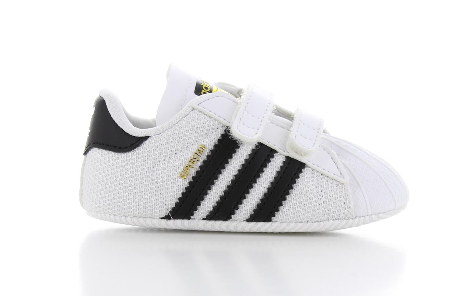 Image of Adidas Superstar Crib Wit Baby