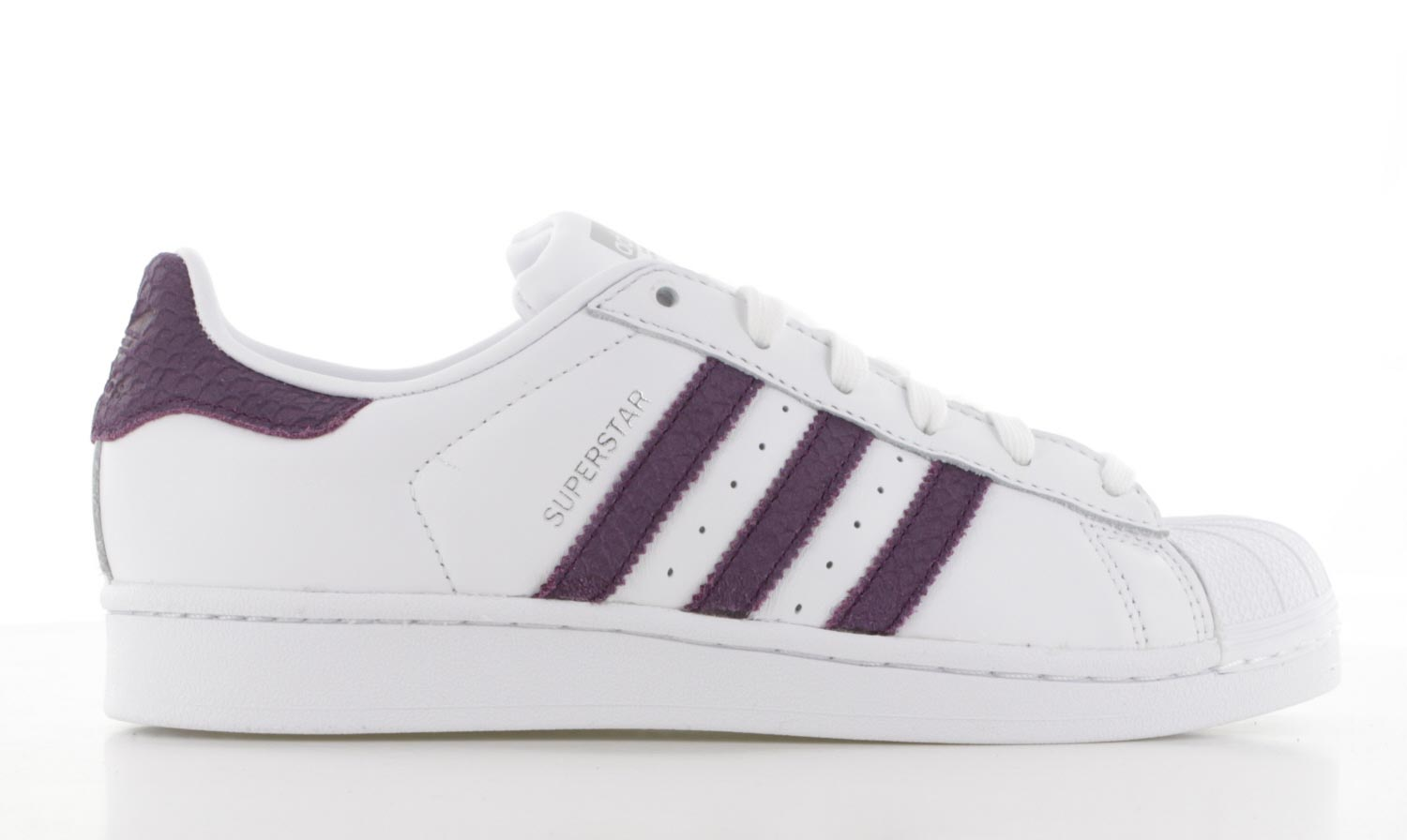Image of Adidas Superstar Wit/paars Dames