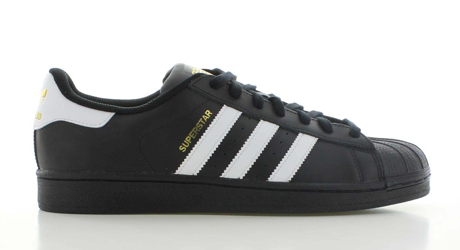 Image of Adidas Superstar Zwart Heren