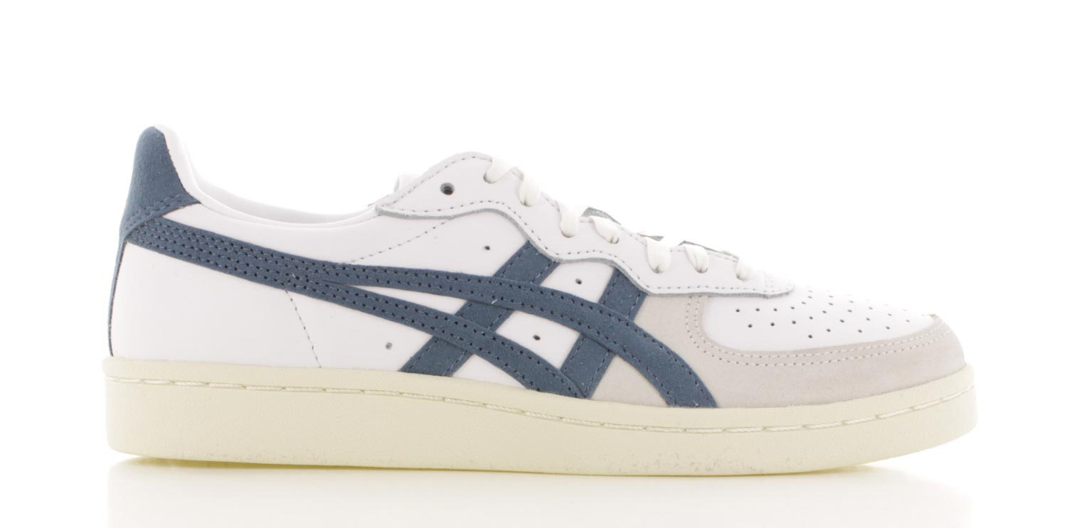 Image of Asics Gsm Wit/blauw Dames