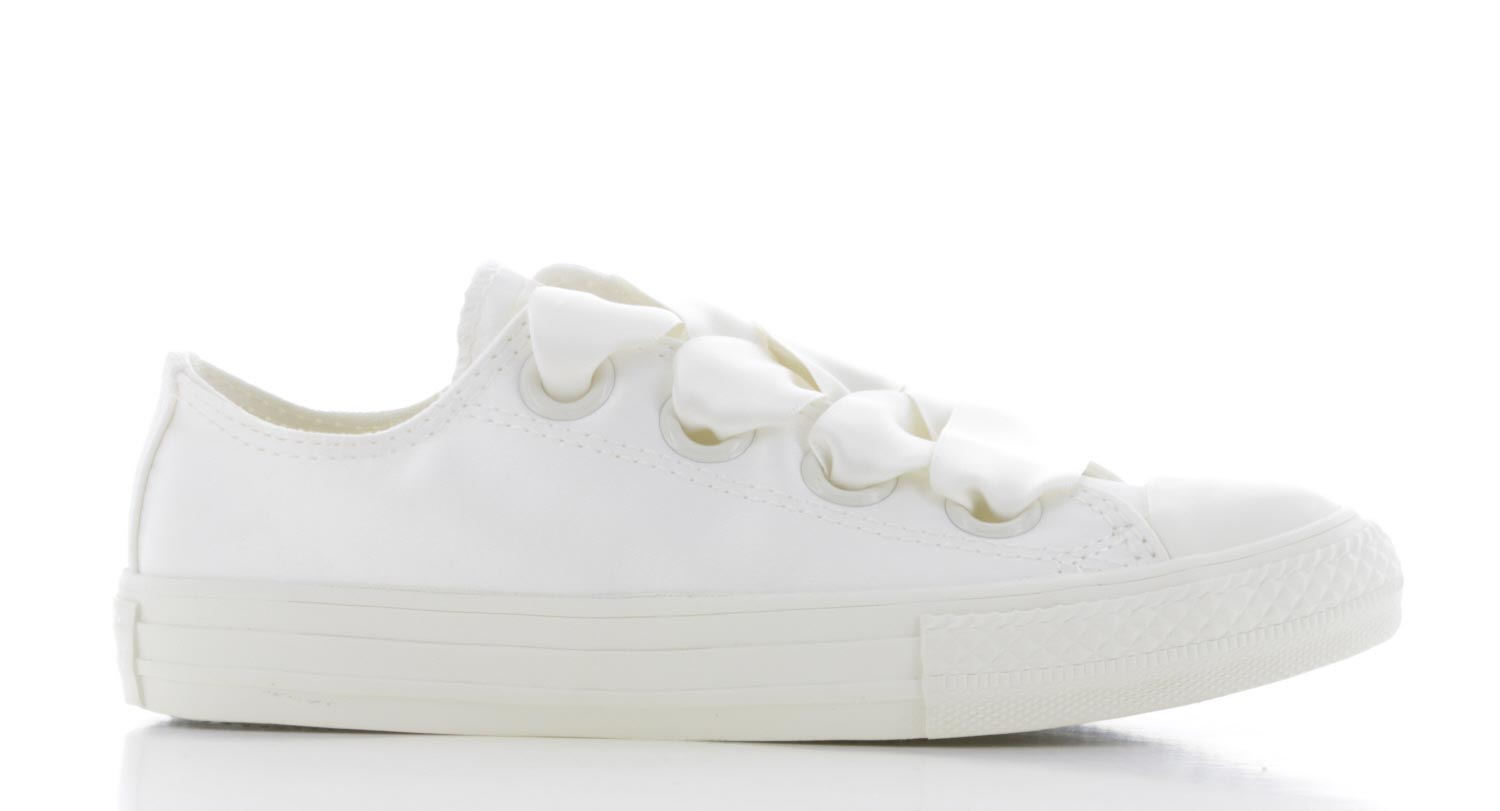Image of Converse Chuck Taylor All Star Big Eyelet - Ox - Wit Kinderen
