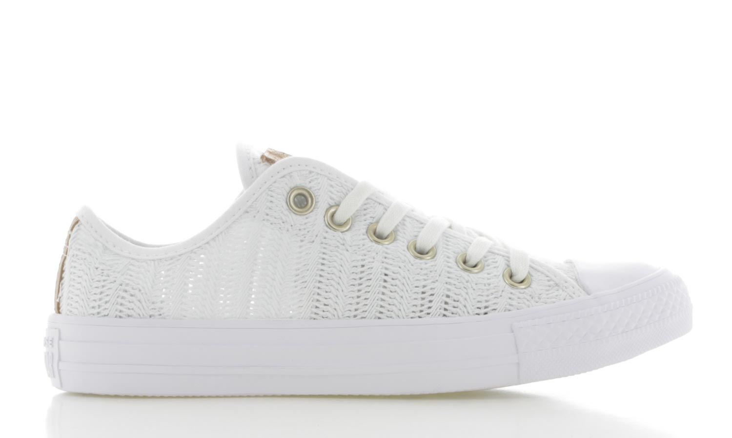 Image of Converse Chuck Taylor All Star Ox Wit Dames