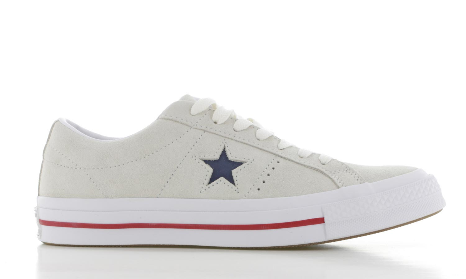 Image of Converse One Star Beige/wit Heren