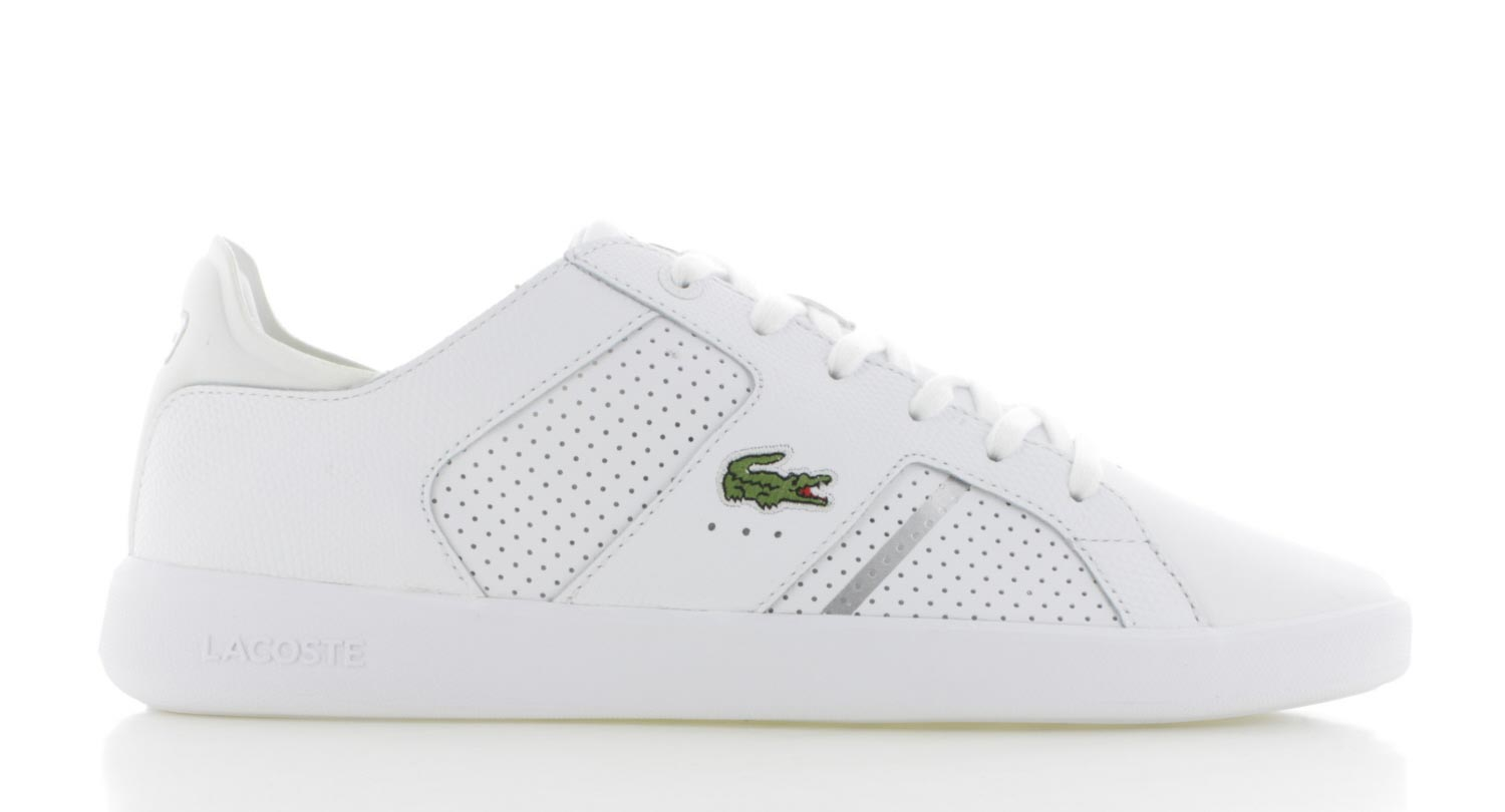 Image of Lacoste Novas Ct Wit Heren