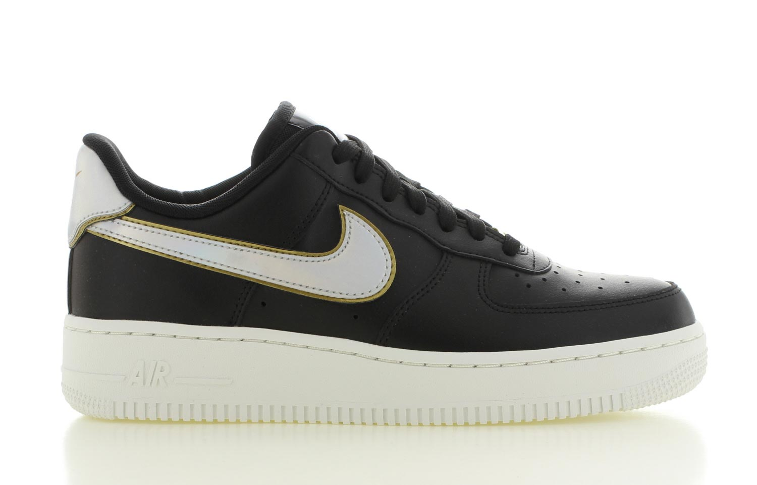 Image of Nike Air Force 1 '07 Metallic Zwart Dames