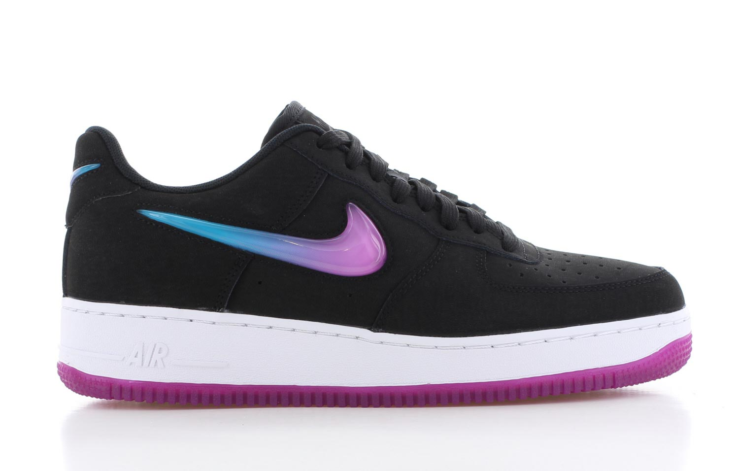 Image of Nike Air Force 1 '07 Premium Zwart Heren