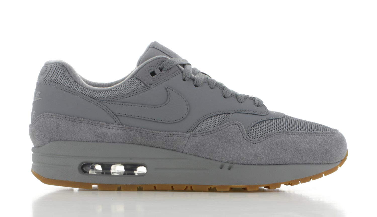 Image of Nike Air Max 1 Grijs Heren