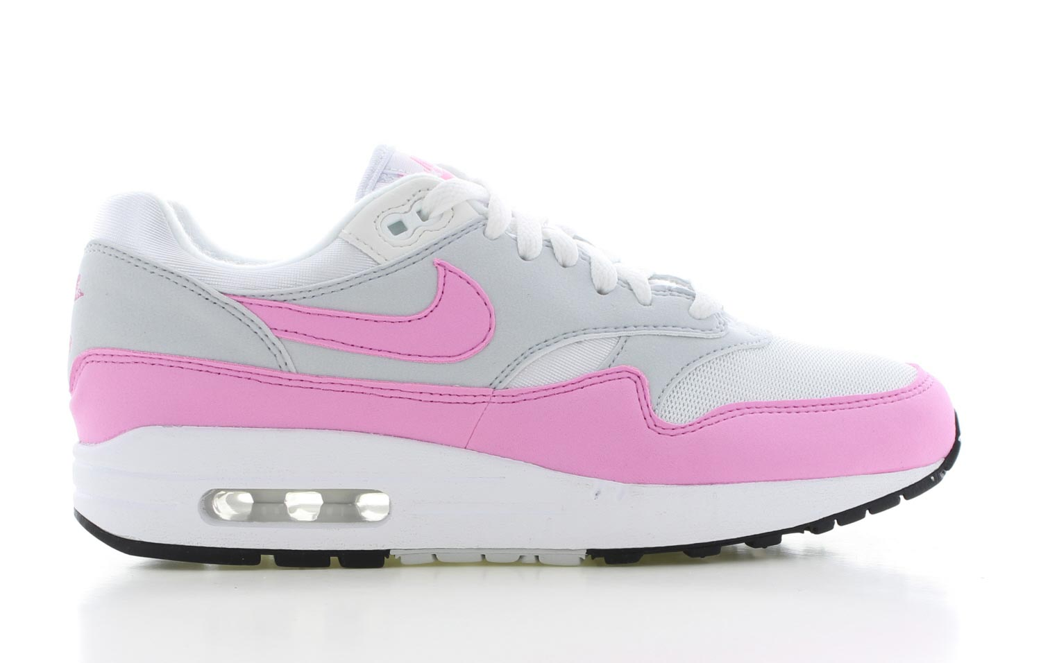Image of Nike Air Max 1 Wit/roze Dames