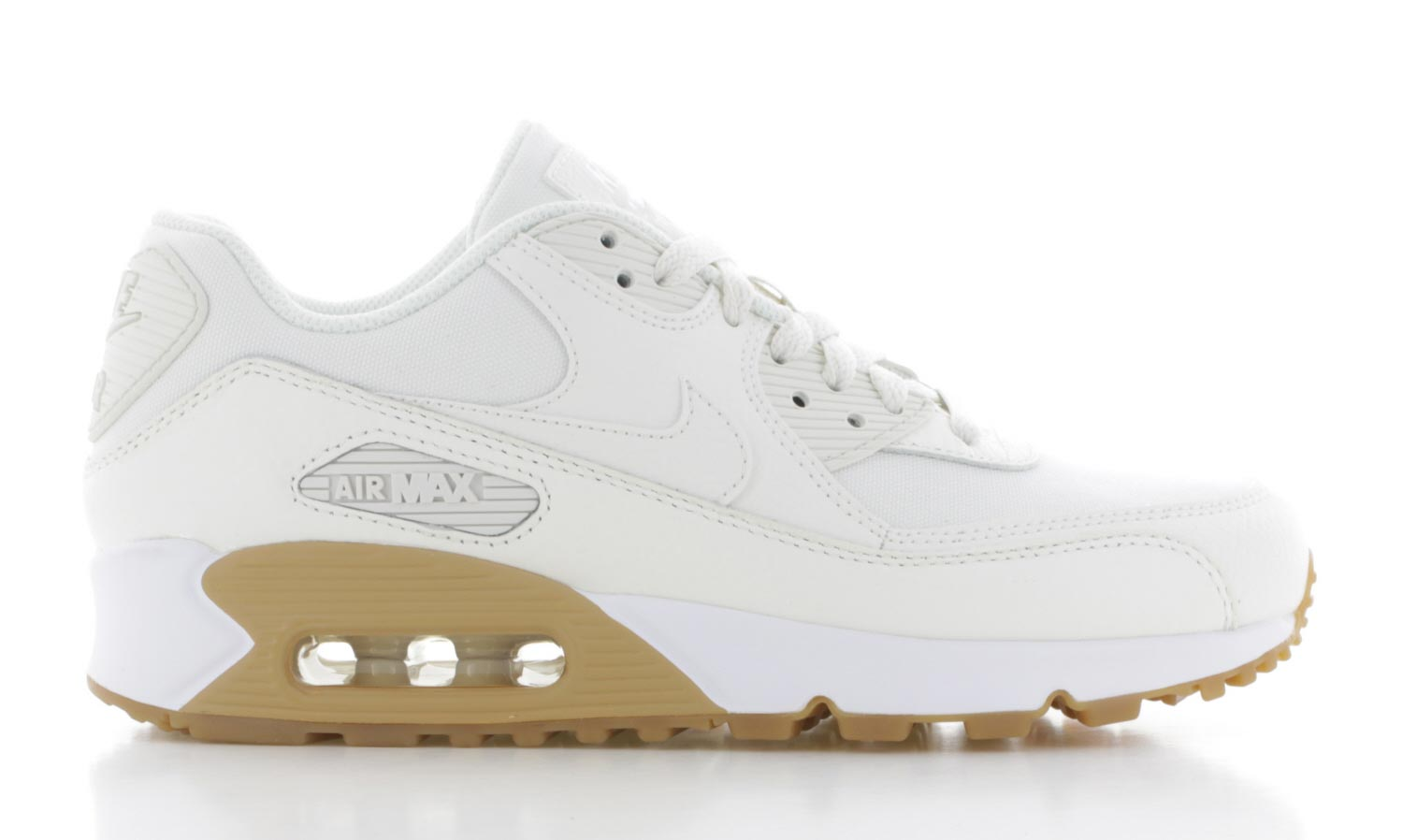 Image of Nike Air Max 90 Premium Crème/wit Dames