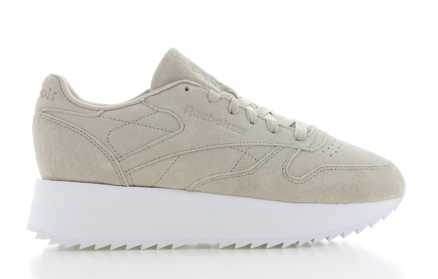 Image of Reebok Classic Leather Double Beige Dames