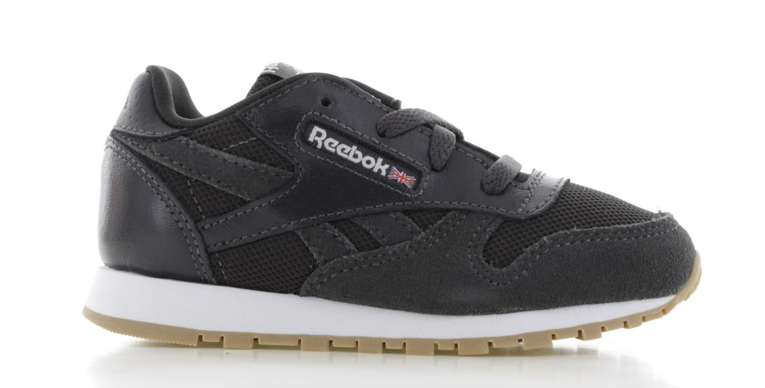 Image of Reebok Classic Leather Estl Zwart Peuters