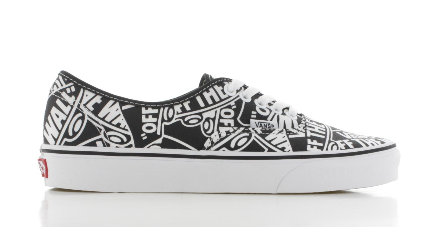 Image of Vans Authentic Zwart/wit Dames