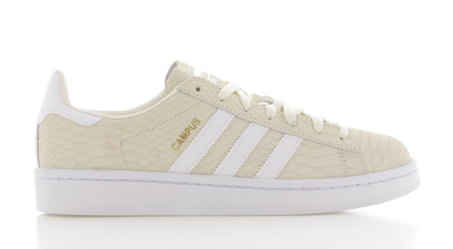 adidas campus dames wit