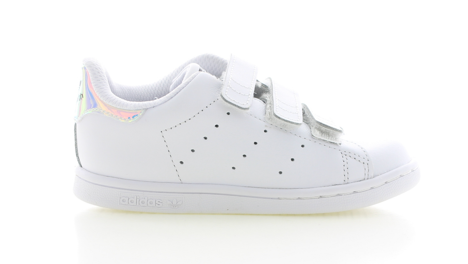 adidas stan smith wit zilver