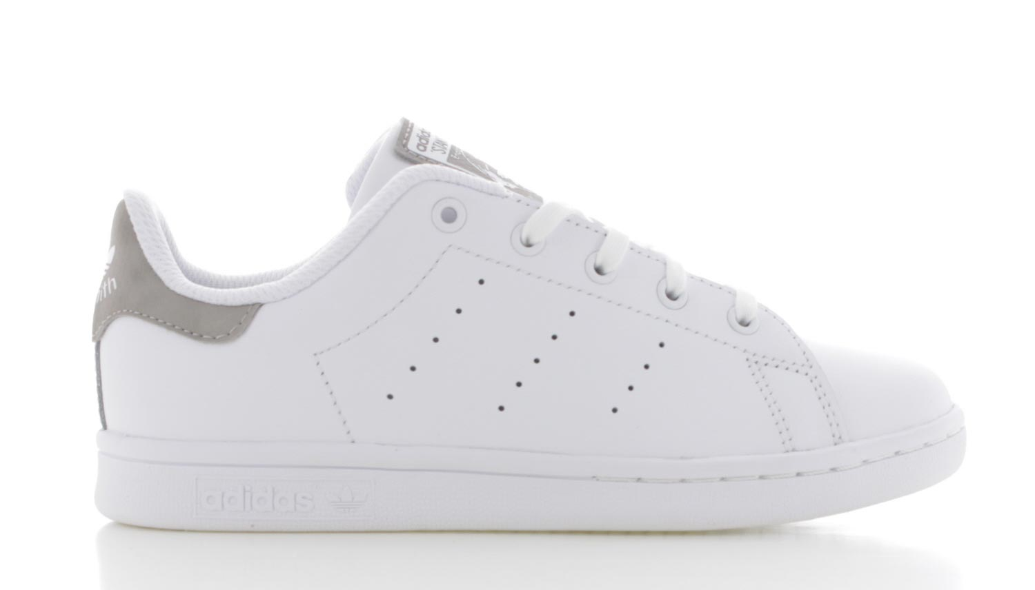 adidas stan smith grijs wit