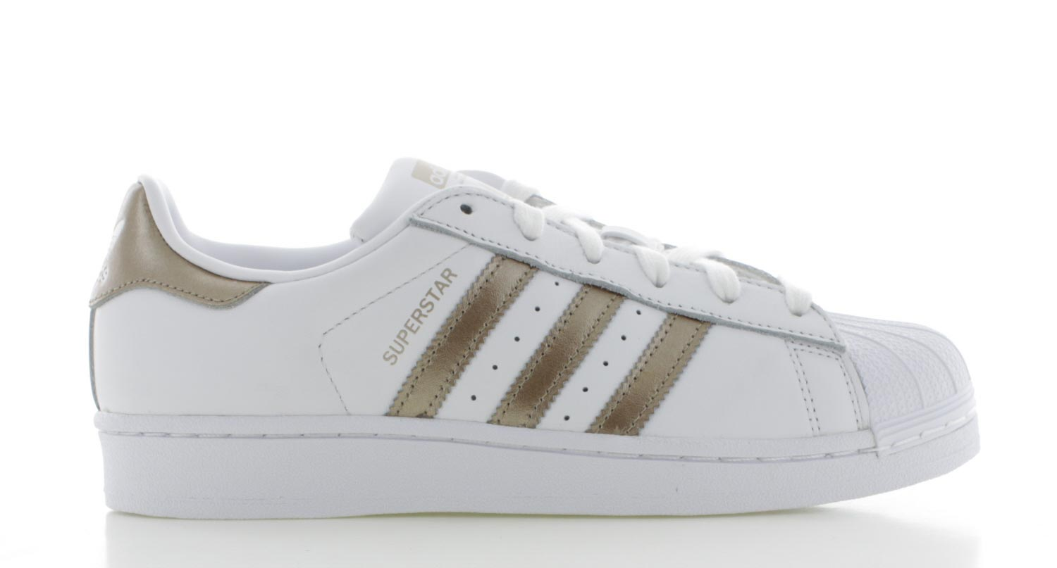 adidas superstars zwart goud