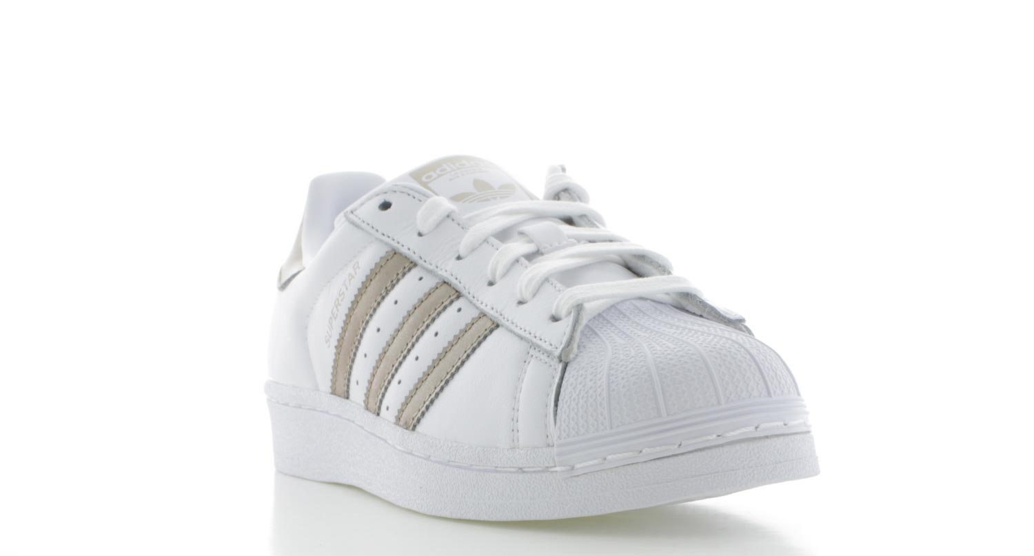 adidas originals wit goud