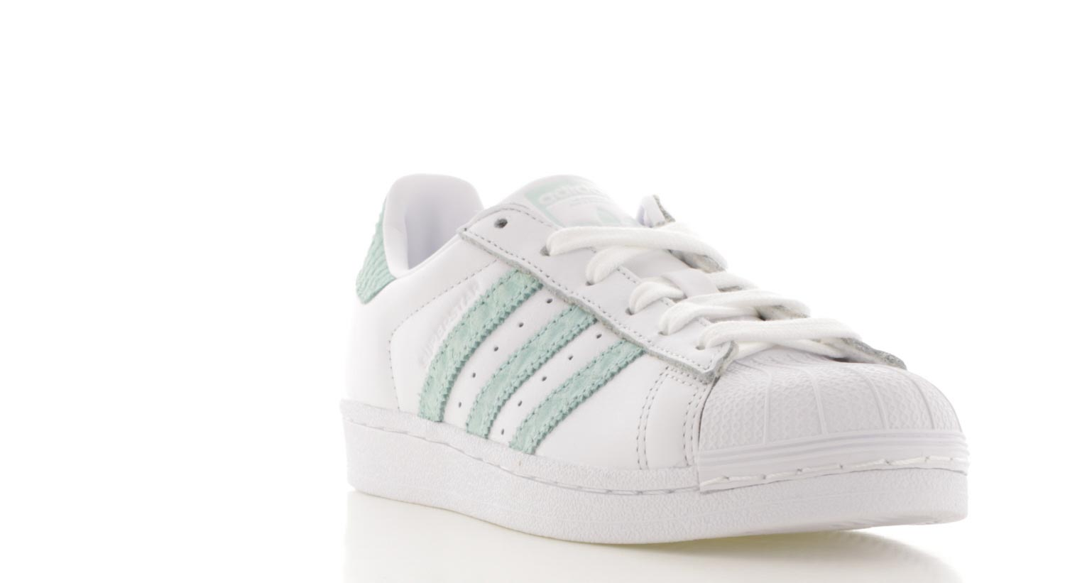 adidas superstar legergroen dames