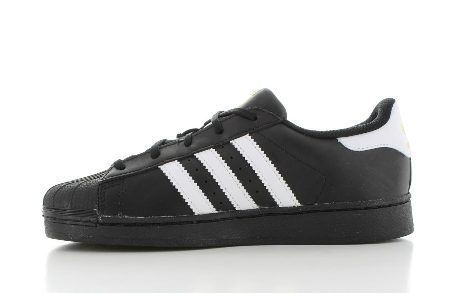 adidas superstar zwart en wit