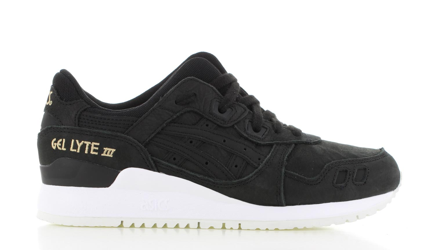 asics gel lyte 3 black heren