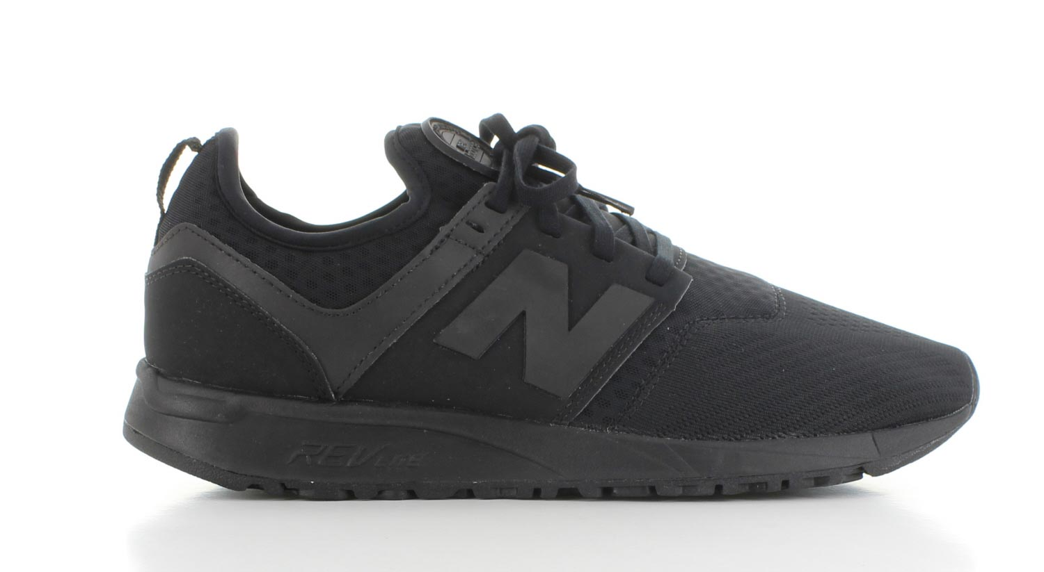 new balance black heren