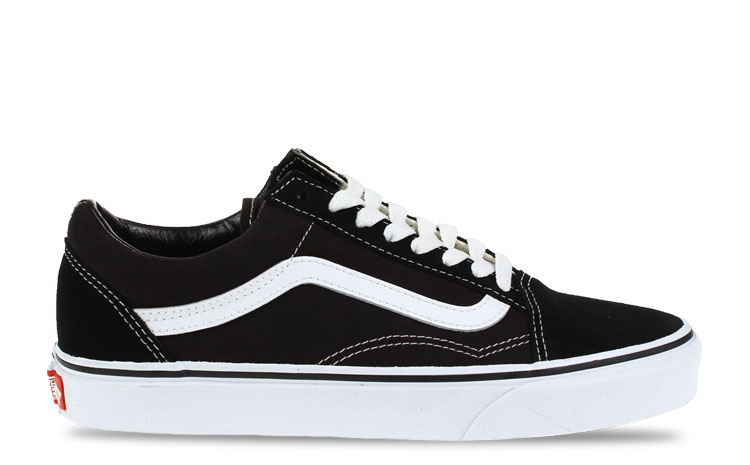 vans old skool zwart/wit dames