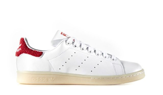 adidas Stan Smith White Red Dames