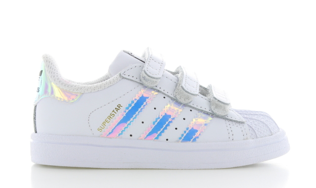 adidas Superstar CF Wit Holographic Kinderen