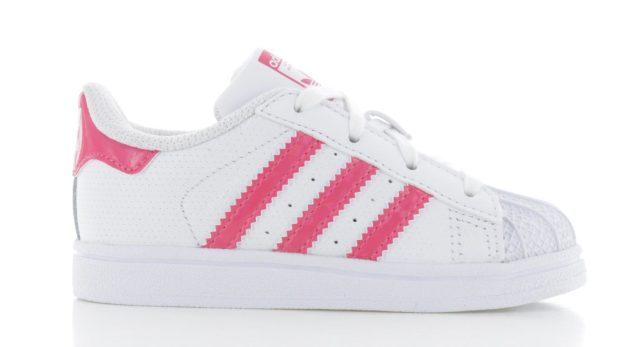 adidas Superstar J Wit Roze Baby