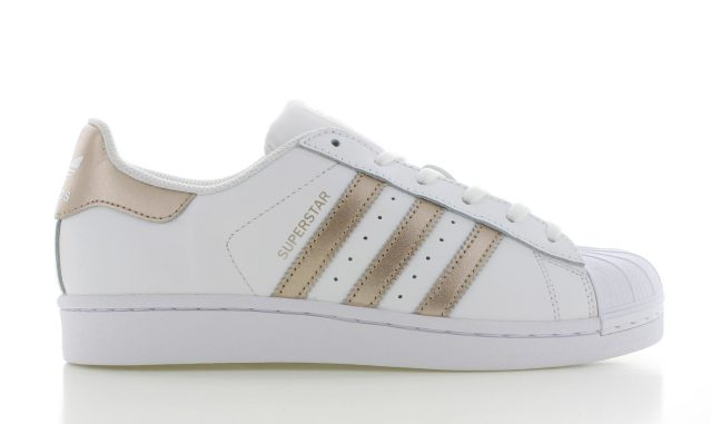 adidas Superstar White/Copper Dames