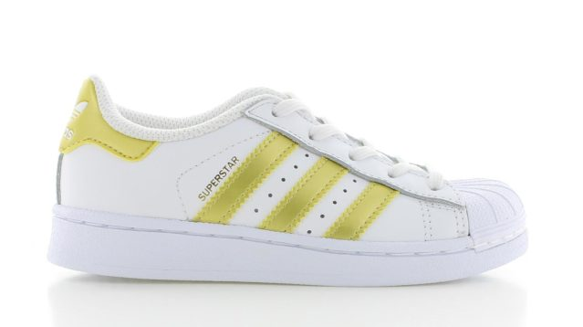 adidas Superstar White Gold KIDS