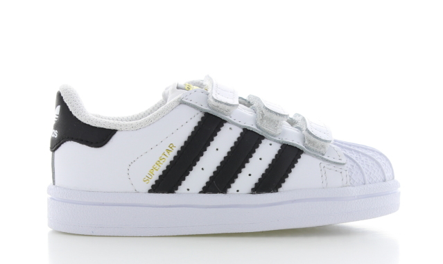 adidas Superstar Wit/Zwart Peuters