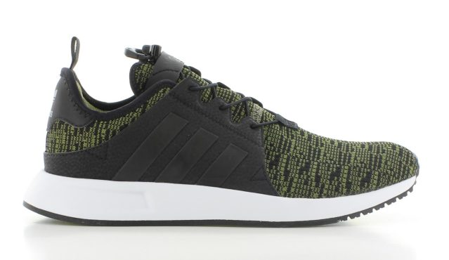 adidas X_PLR Black Green Knit GS