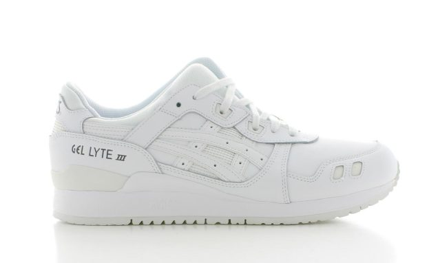 ASICS Gel Lyte 3 Leather Triple White Heren