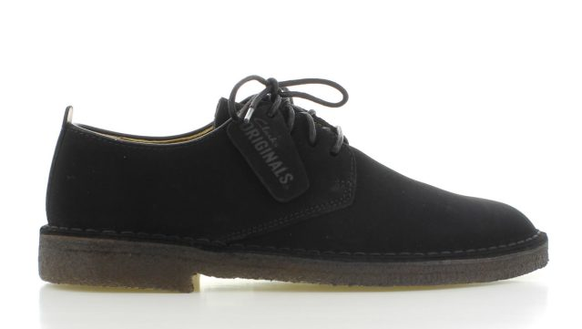 Clarks Desert London Black Heren